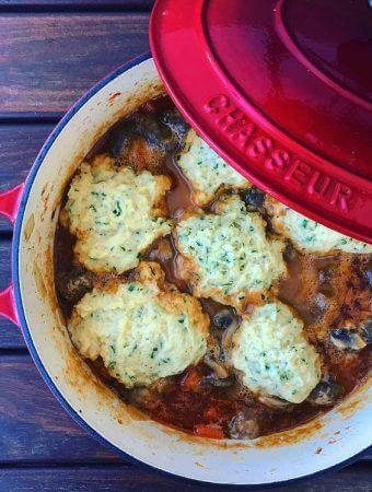 Scottish Lamb & Dumpling Stew
