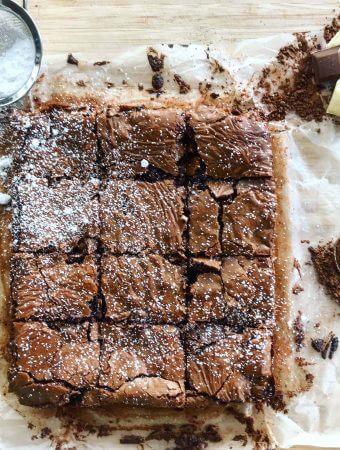 SERIOUSLY moreish chocolate brownies