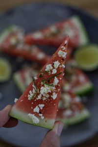 Spicy Watermelon Snacks