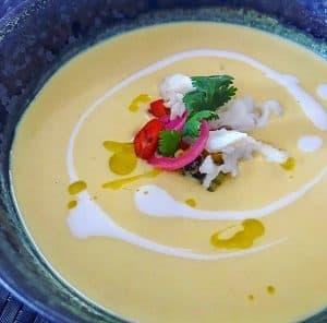 Coconut Corn Soup