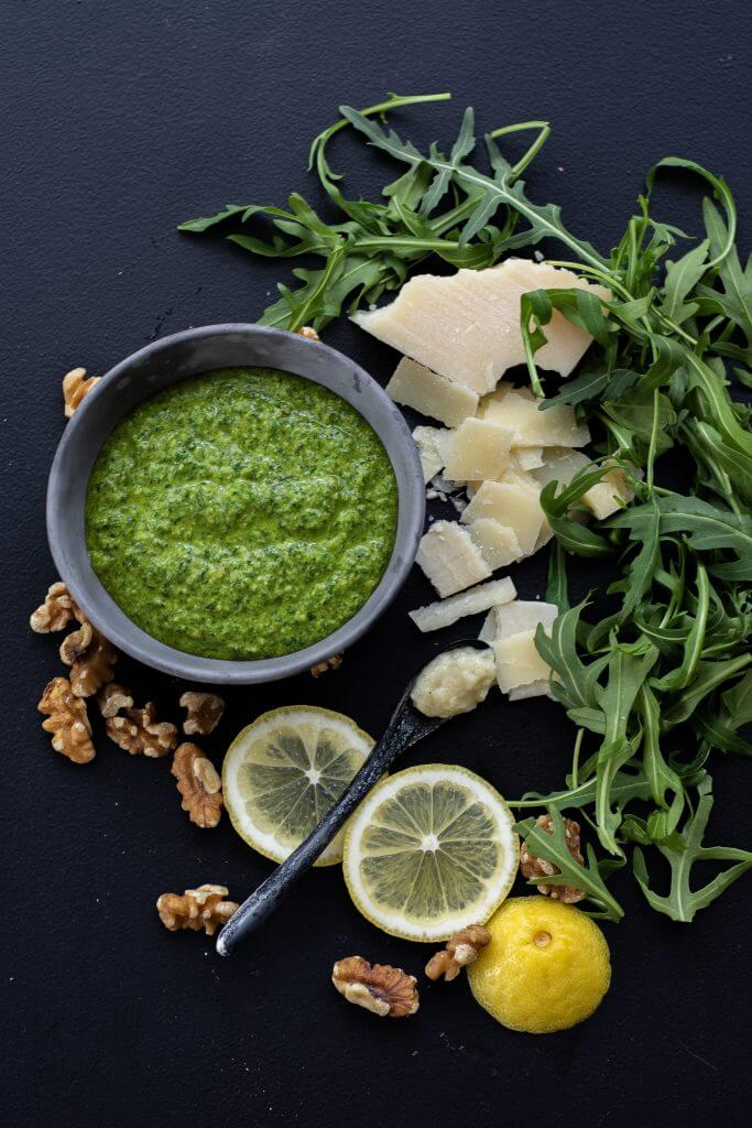 Rocket Walnut Pesto