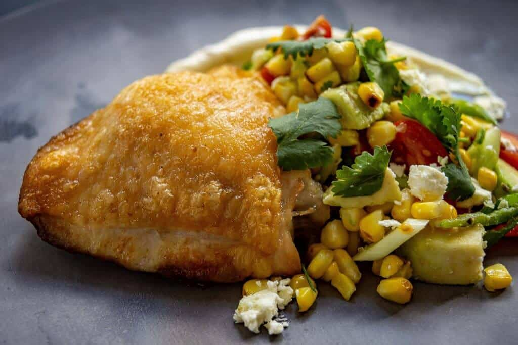 Chicken & Corn Salsa