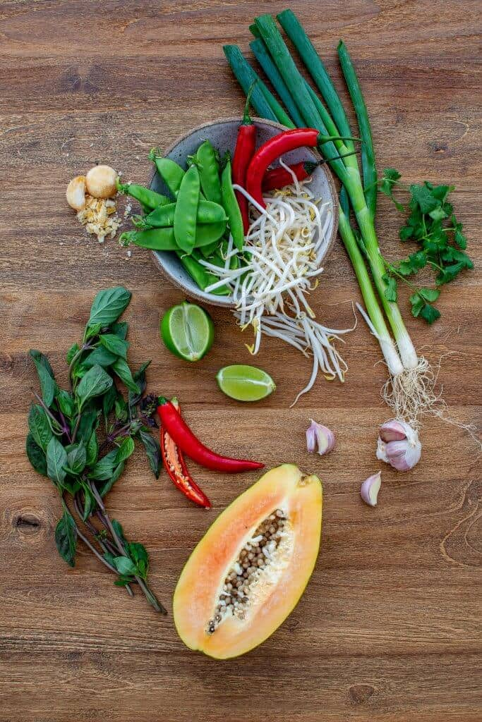 Asian Papaya Salad