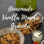 Vanilla Maple Granola