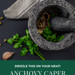 Anchovy steak sauce ingredients