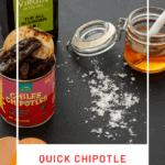 chipotle, honey, eggs & olive oil