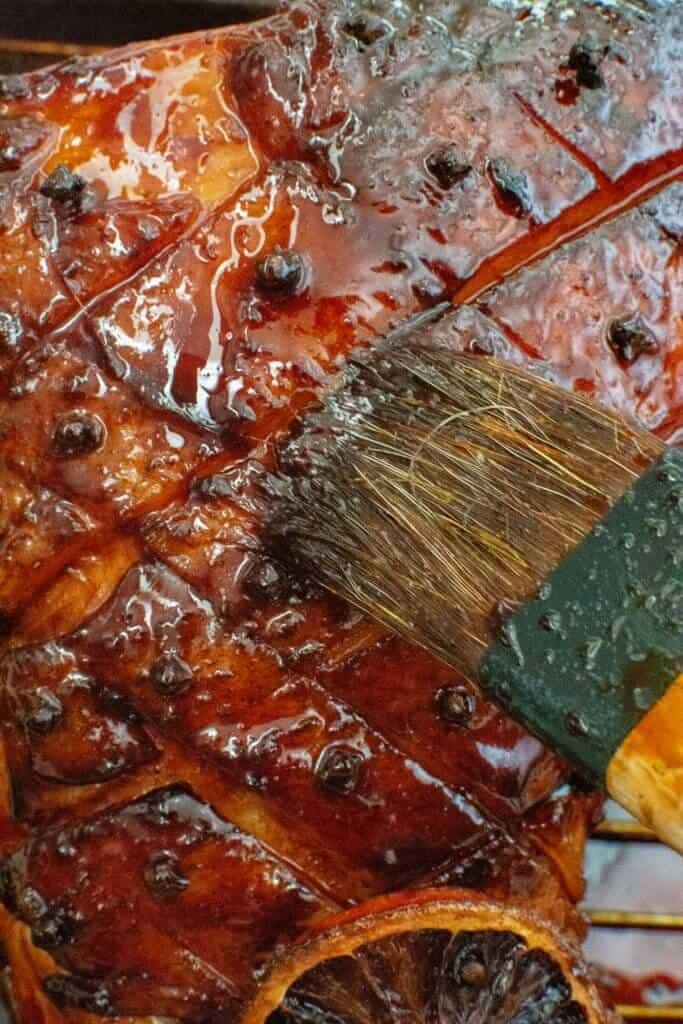 Maple Vanilla Glazed Ham