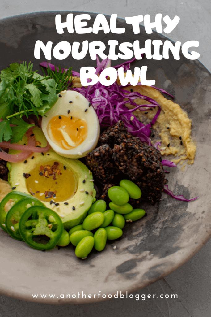 Black Pudding Nourishing Bowl