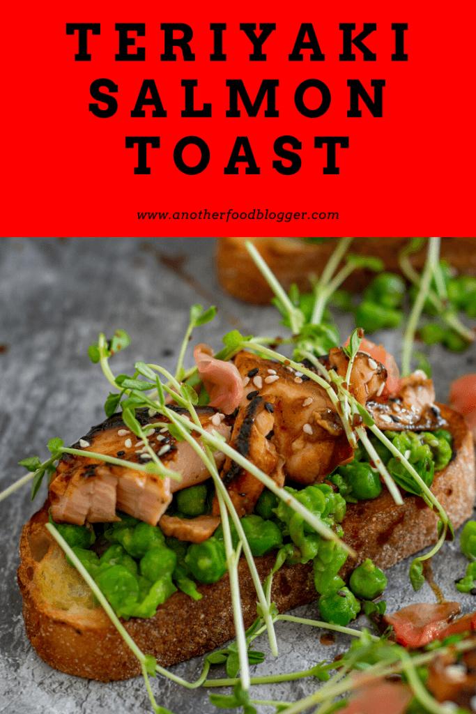 Teriyaki Salmon Toast