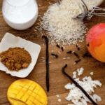 Vanilla Coconut Rice Pudding