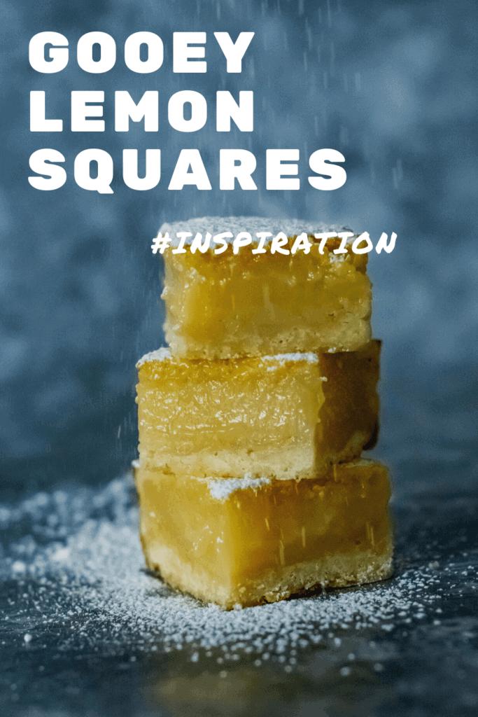 Gooey Lemon Squares