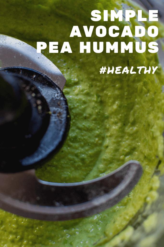 hummus in a ninja kitchen blender