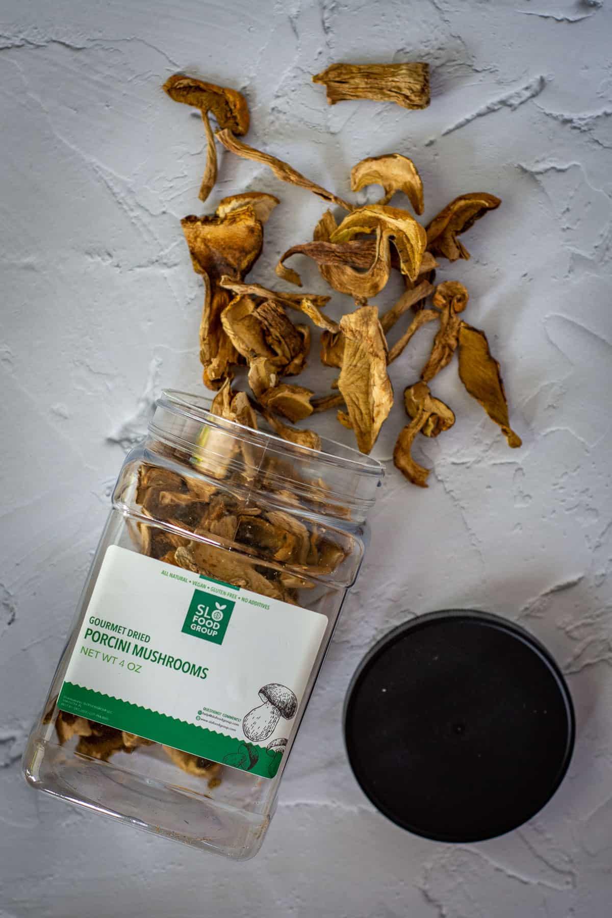 slo food group dried porcini mushrooms