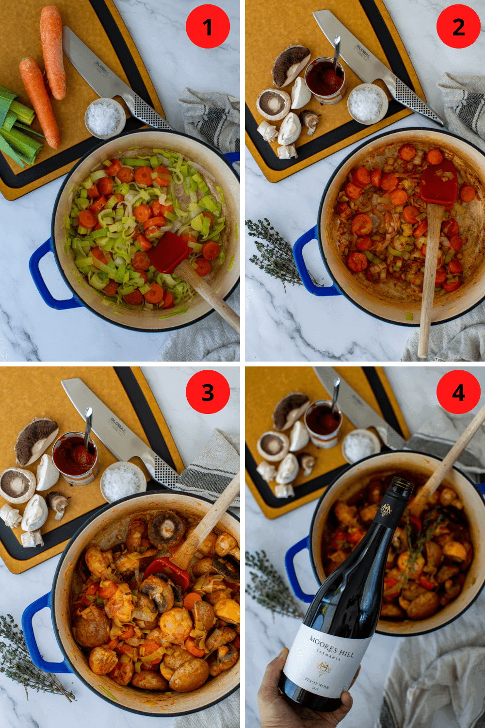 step by step process to make this dish