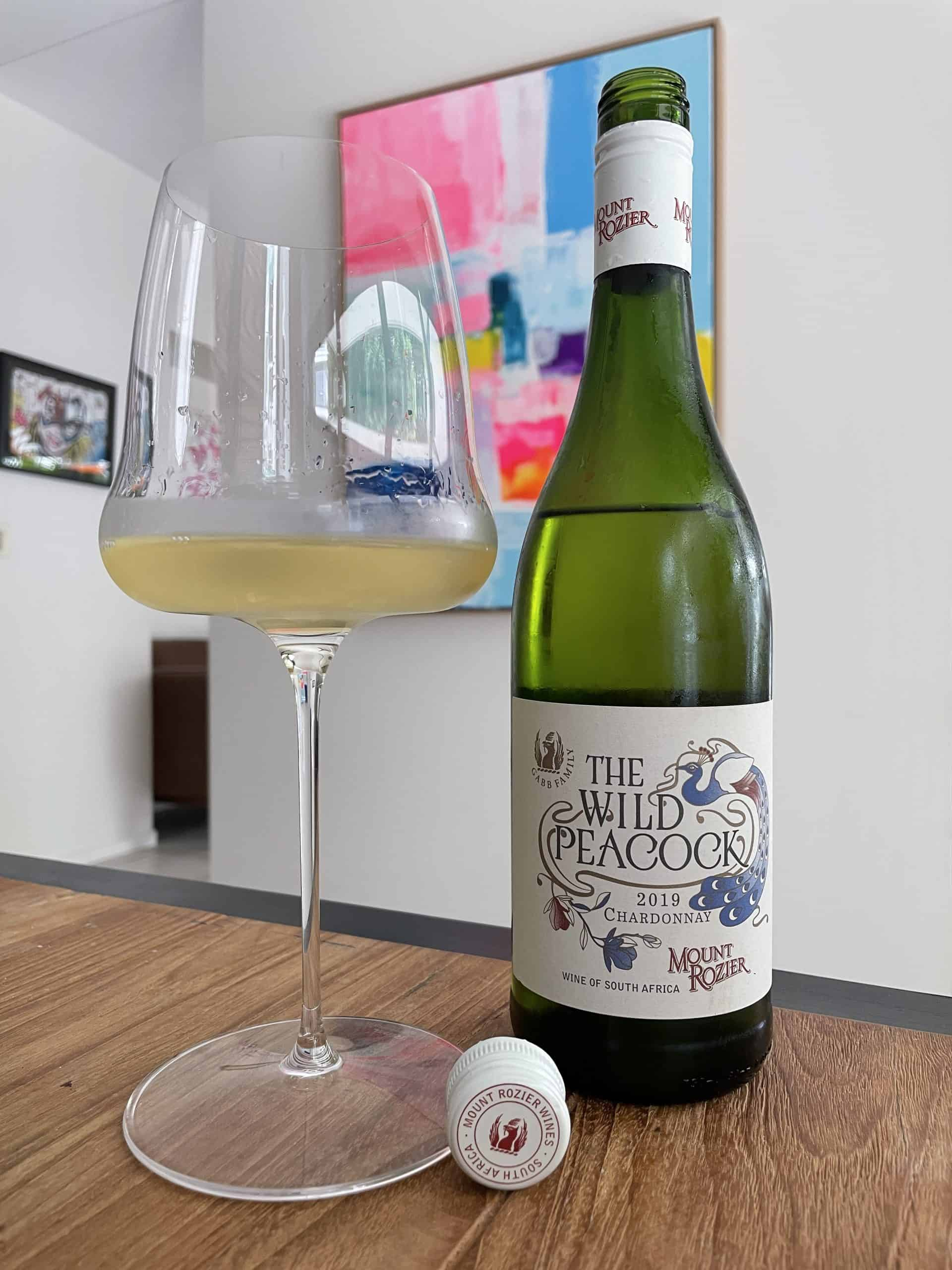 Mount Rozier chardonnay in a glass!
