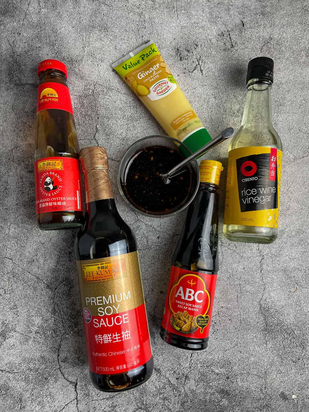 Korean beef stir-fry sauce ingredients