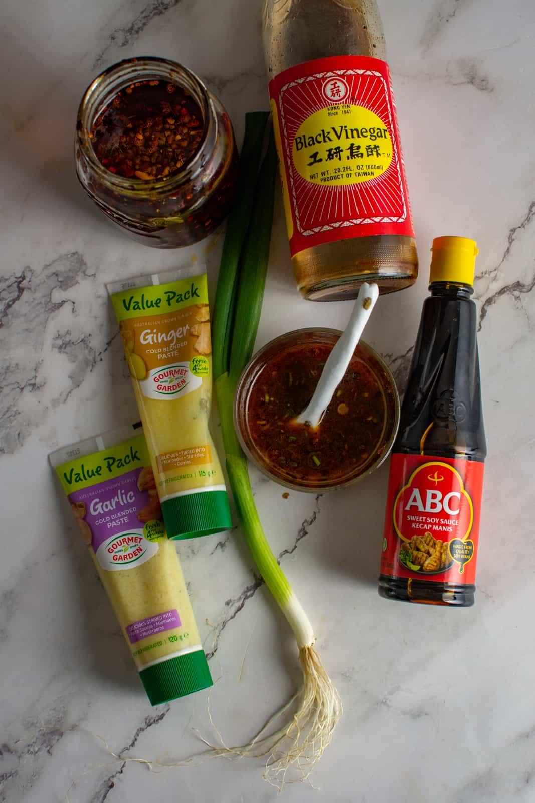 dumpling dipping sauce ingredients